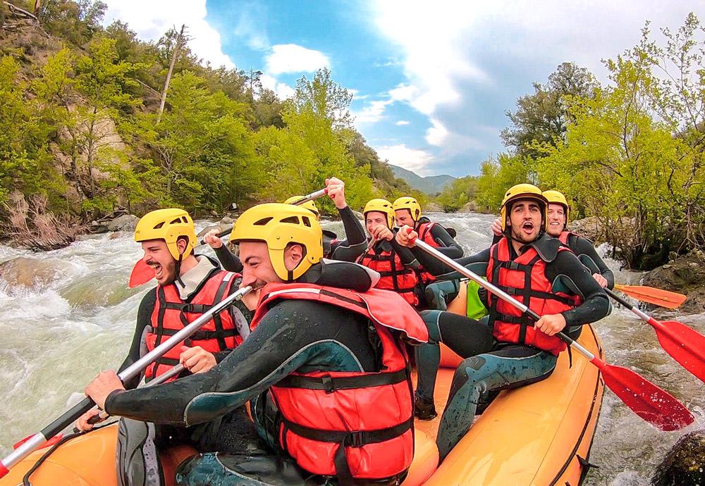 rafting corse corsica riviere descente