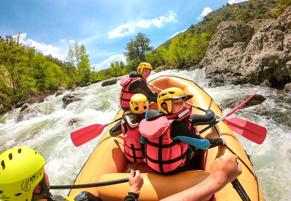 rafting corsica corse family golo morosaglia