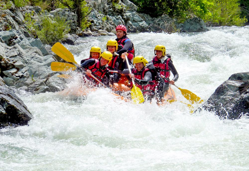 rafting corse corsica riviere montagne golo
