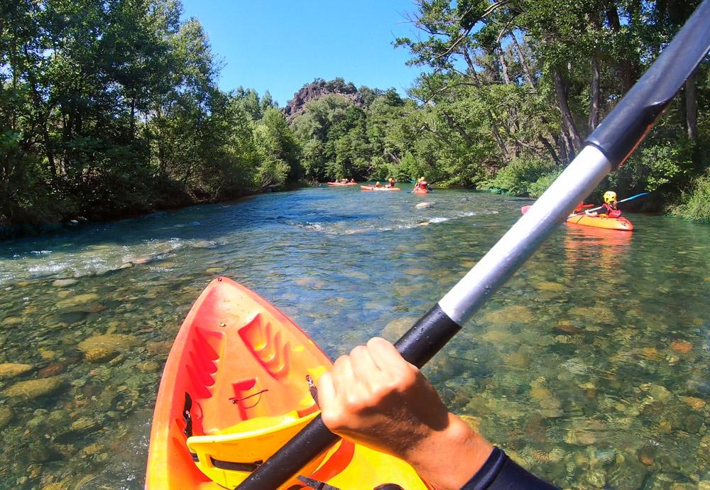 kayaking corse kayak riviere golo famille in terra corsa-4